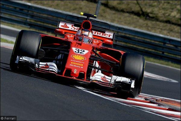 F1 Test Ungheria: ferrarista Leclerc il più veloce nel primo giorno