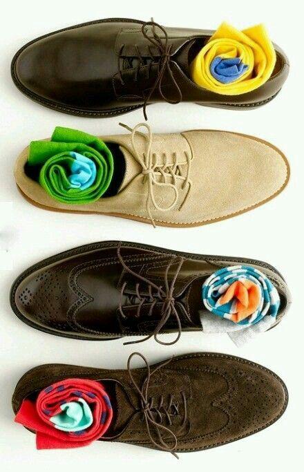 Zapatos con estilo.