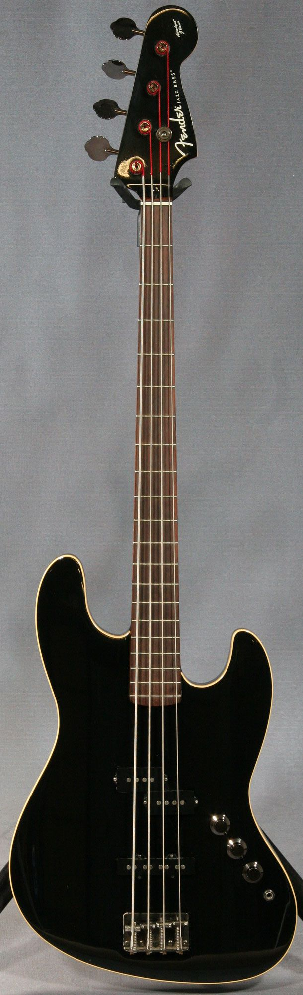 Fender Aerodyne Jazz Bass- My dream bass guitar. If only I had a spare £600 to buy one but sadly that's never going to happen. :(