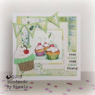 100% Handmade By Rimmie: Hiep Hiep Hoera!