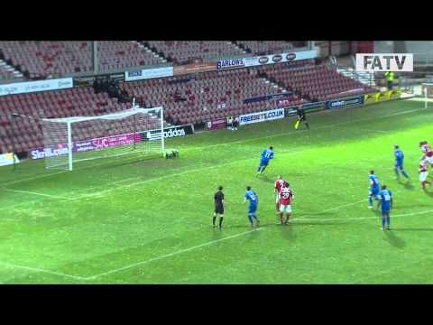 FOOTBALL -  Wrexham vs Alfreton Town 3-1, FA Cup First Round Proper 2013-14 highlights - http://lefootball.fr/wrexham-vs-alfreton-town-3-1-fa-cup-first-round-proper-2013-14-highlights/