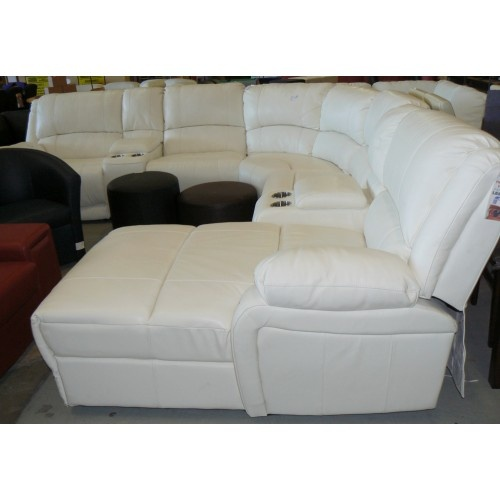 Full Leather Corner Lounge Suite with Recliners u0026 Chaise - Black or Oyster White  sc 1 st  Pinterest & 82 best Lounge suites images on Pinterest | Books Armchair and Home islam-shia.org