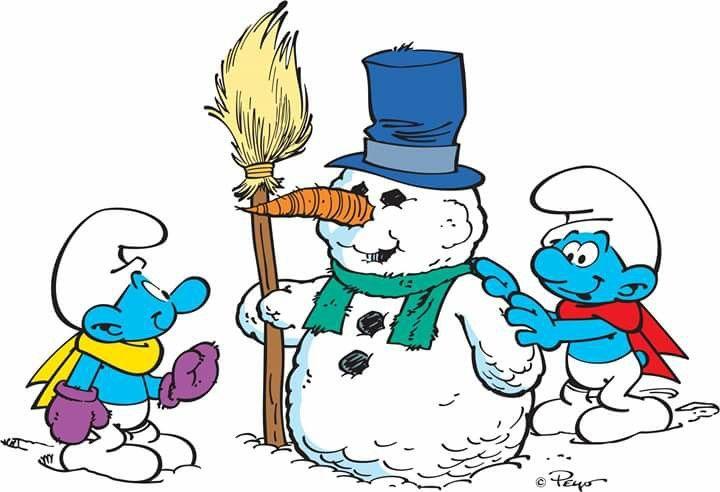 Schtroumpf de neige