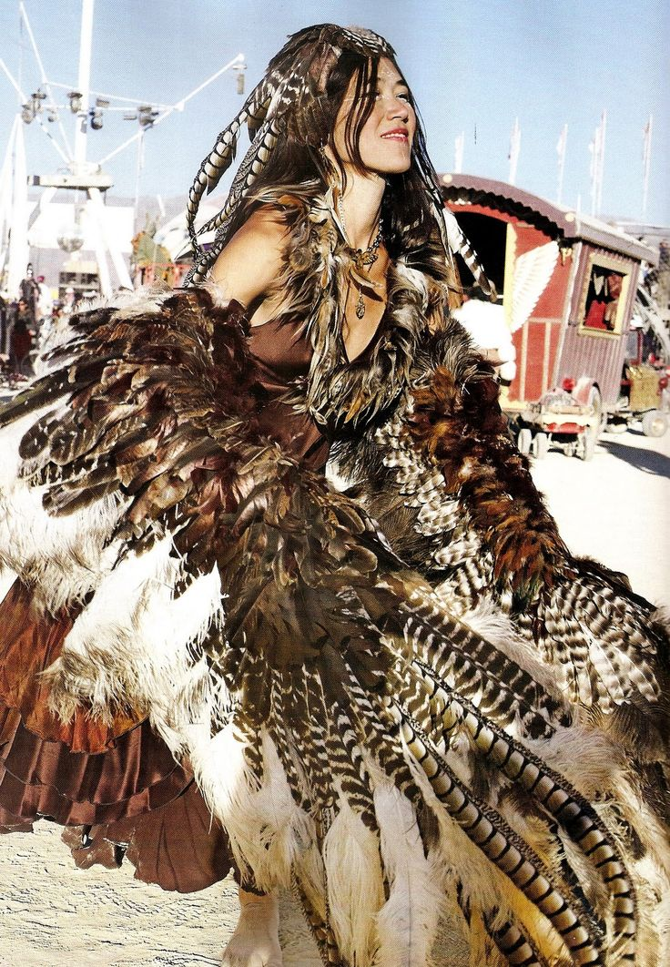 feather dress-burning man festival  Have your own original Burning Man photos? Inspire the journey at trover.com! We're travel photo junkies.
