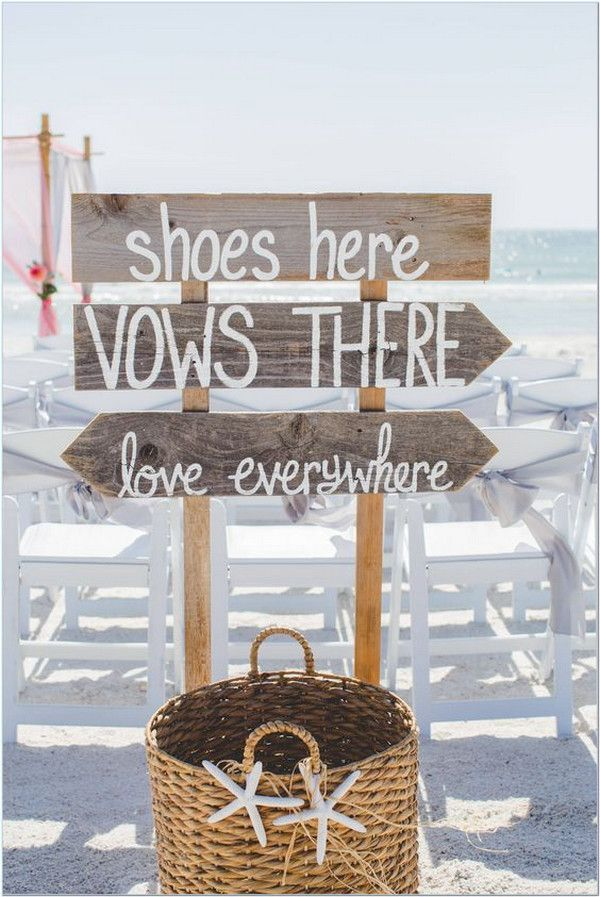25 Stunning Beach Wedding Ideas You can't Miss for 2020
