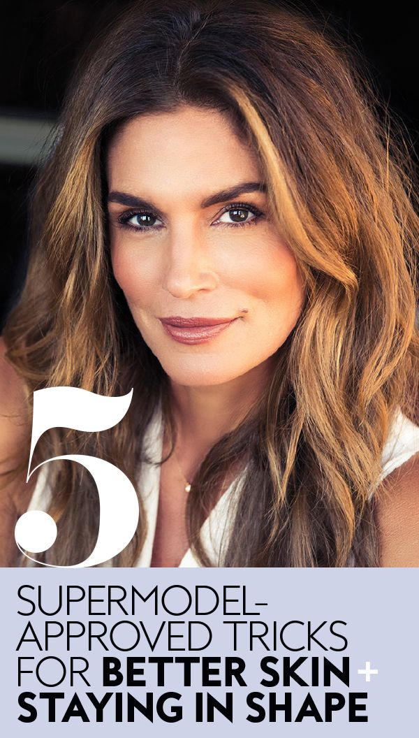 Cindy Crawford shares her workout tips and beauty routine.