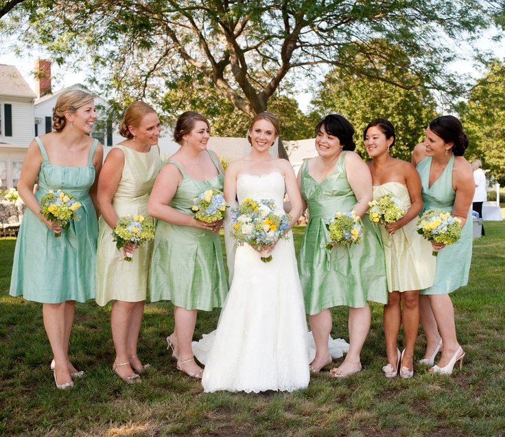 78  images about Green Bridesmaid Dresses on Pinterest  Green ...