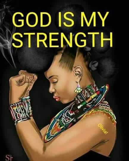 The lord is my light and salvation whom shall I fear the lord is the strength of my life why should i be afraid......I trust god only