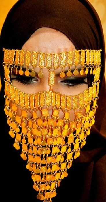 a fashionable twist on niqab!
