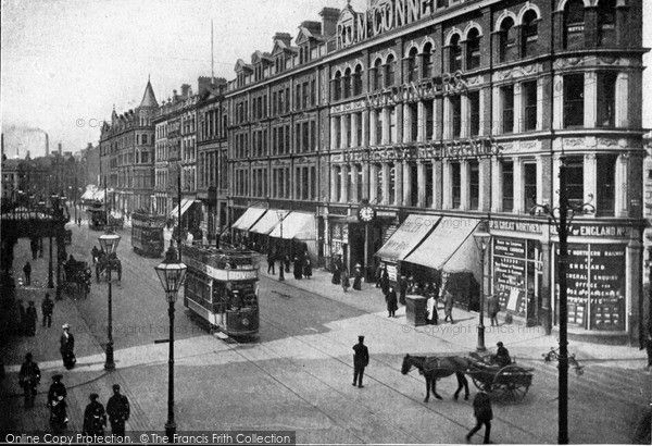 Belfast, Royal Avenue c.1910, from Francis Frith