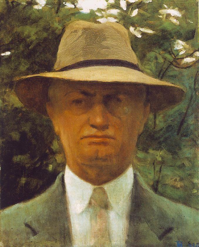 """István Réti - """"Self-Portrait"""" 1935"""