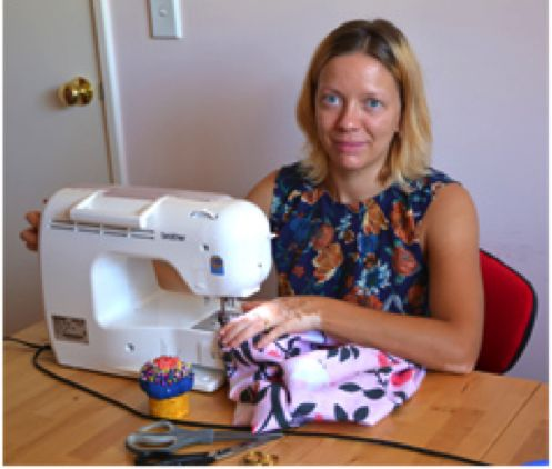 From Sewing at Age 8 to Selling Designer Pram Liners!