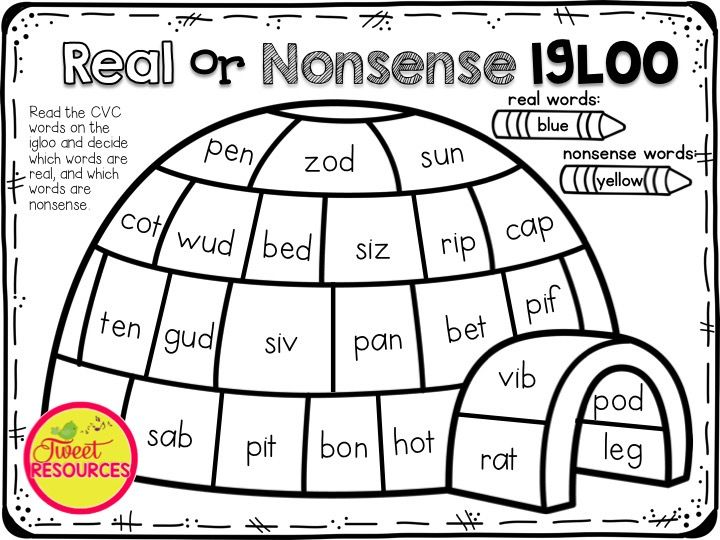 31 best Nonsense words images on Pinterest   Nonsense words, Sight ...