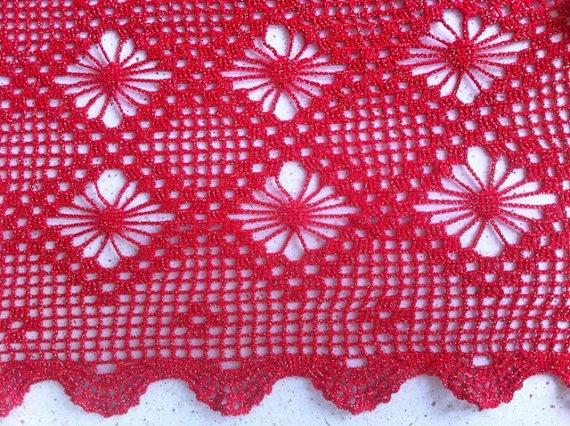A handmade lace crochet table cloth / crochet by ArtCave GretaKanfieta, €299.00