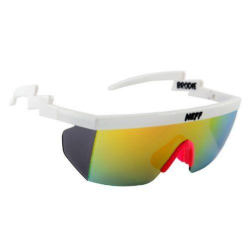 Neff Brodie Sonnenbrille Uni weiß uCVyS1wMh