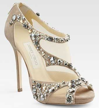 Jimmy Choos shoes.. oh if I would have the money..