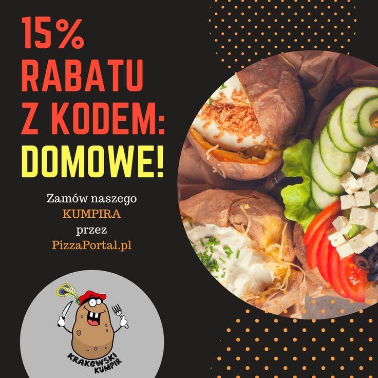 ☛ OFERTA SPECJALNA ☚  UWAGA! TYLKO DZISIAJ!  ☛ Zamów KUMPIRA przez www.pizzaportal.pl/wtorek/ 15% taniej z kodem: DOMOWE - a potem już tylko ciesz się jego niepowtarzalnym smakiem ☚  ZAPRASZAMY.  Ps. Pamiętaj! Z KODU skorzystać może każdy i jest on wielkokrotnego użytku.  #krakowskikumpir #kumpir #kumpirgrecki #grecja #szef #kuchni #poleca #bar #pieczonyziemniak #ziemniak #baked #potatos #kraków #krakow #rzeszów #rzeszow #warszawa #stolica #katowice #polska #googfood #food #pizzaportalpl…