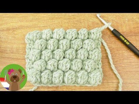 Häkelanleitung | Nettes Muster von Bällen Einfach für Anfänger