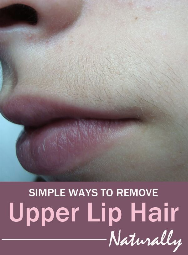 Do you want to get rid of upper lip hair naturally and you do not know how? You have come to the right place because you can find here 3 amazing and simple homemade recipes to help remove it.