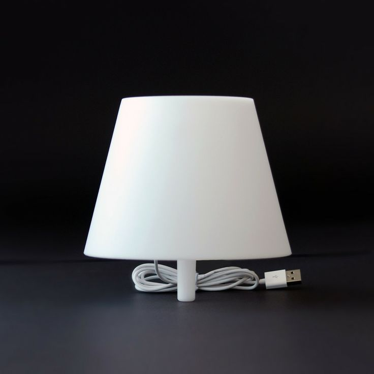 Winey Lamp.  Place into memorable wine bottle.  White, pink or yellow acrylic.