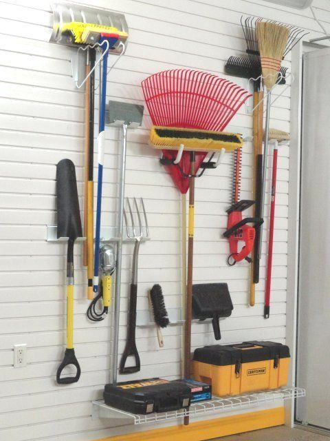 1000 images about lawn garden storage ideas on for Gardening tools storage