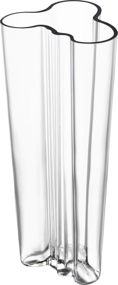 Iittala - Alvar Aalto Collection Vase 255 mm clear - Iittala.com