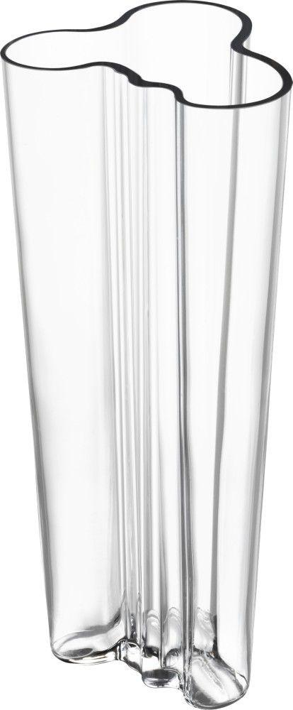 Iittala - Alvar Aalto Collection Vase 255 mm clear - Iittala.com