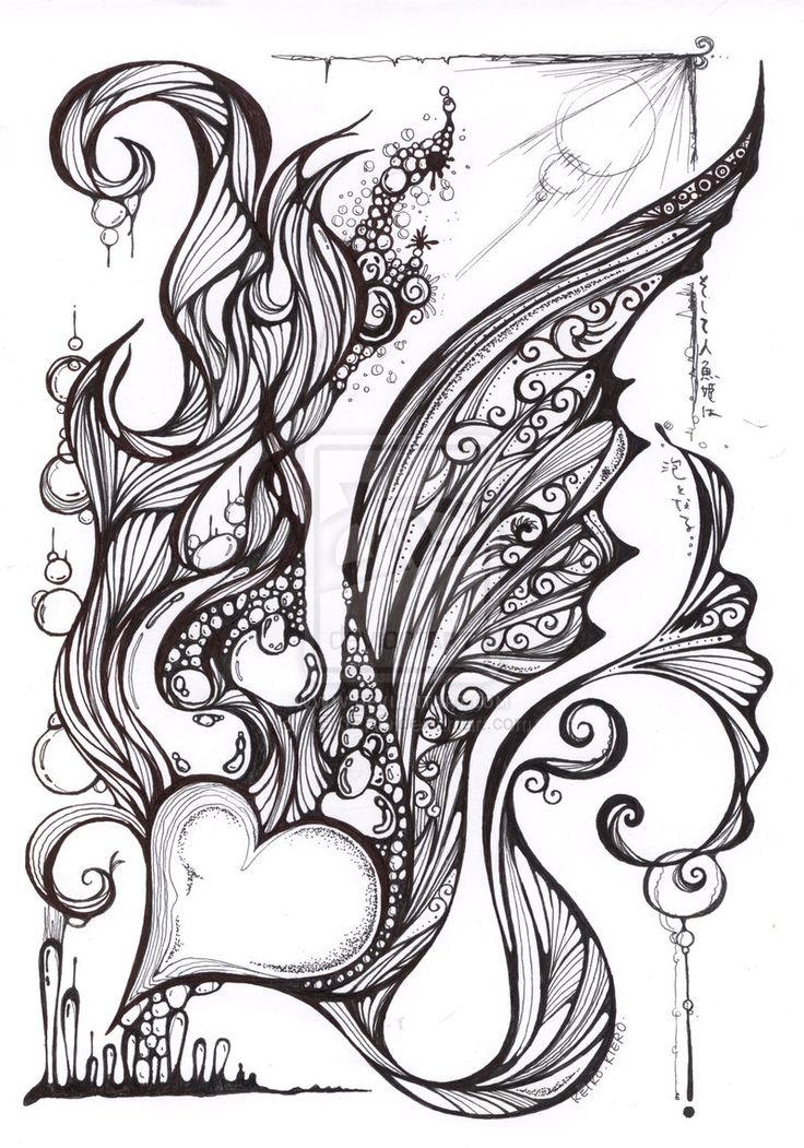 mermaid coloring pages pinterest - photo#44