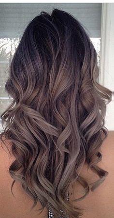 Ashy brown curls                                                                                                                                                                                 More – Stella Kremer