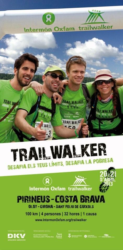 Red Runners: Trailwalker 2013