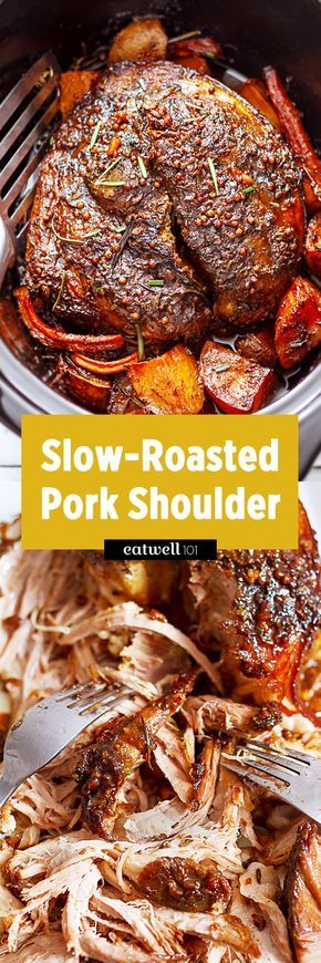 What better way to wind down the week than with this Garlic and Rosemary Balsamic Roasted Pork? Incredibly tender, slow-roasted and succulent, this is a crowd pleasing dinner with very little effor…