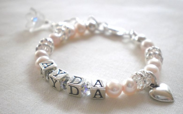 A name bracelet to keep forever.