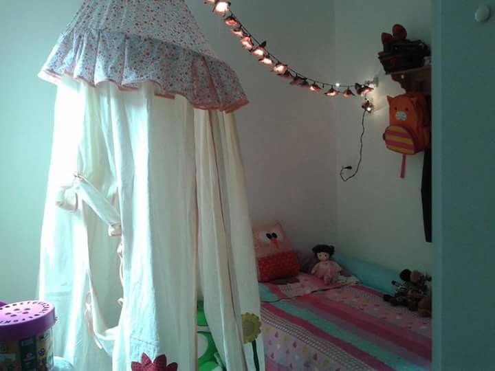 cabana infantil de tecido