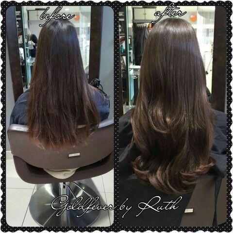 Hair extensions at Kieran O'Gorman's