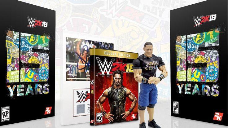 WWE 2K18 Collector's Edition Features John Cena