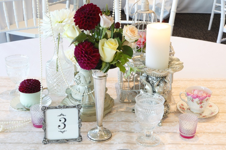 @The Conservatory, SKYCITY Grand Hotel - Beautiful table arrangement for weddings