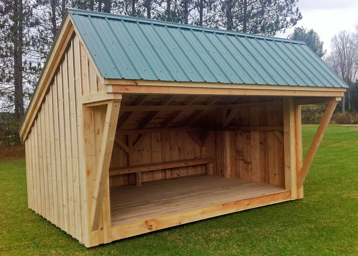 10x14 Camping Shelter Now Offered By Alcove Beams And