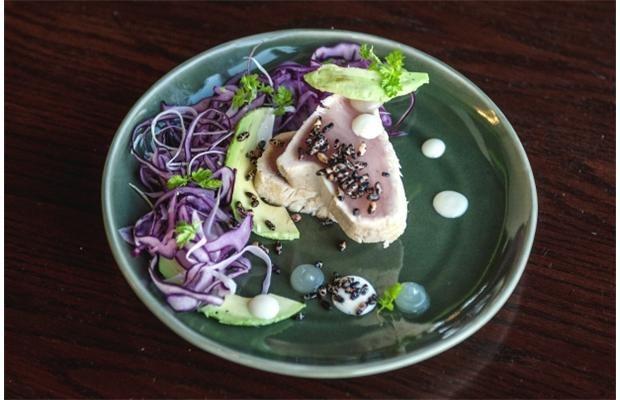 Pacific Albacore tuna from #Pier73 | Pacific Gateway Hotel YVR