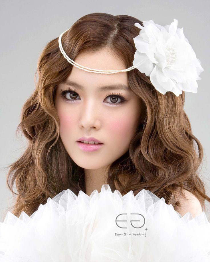 Wedding Hairstyle Korean: 55 Best Korean Wedding Hair / Makeup Images On Pinterest