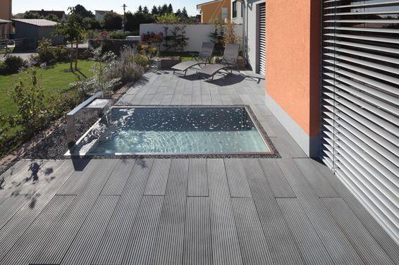BANGKI-LINE Terrassenplatten u2014 Braun Steine Terrasse hg - moderne dachterrasse gestalten ein gruner zufluchtsort grosstadt
