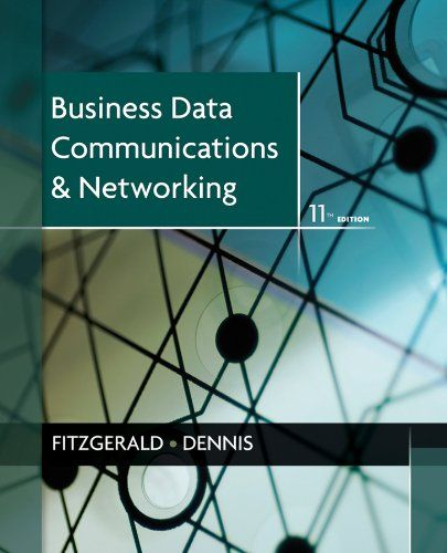I'm selling Business Data Communications and Networking by Jerry FitzGerald - $30.00 #onselz