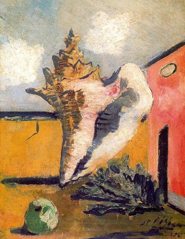 La grande conchiglia, 1927, Filippo De Pisis