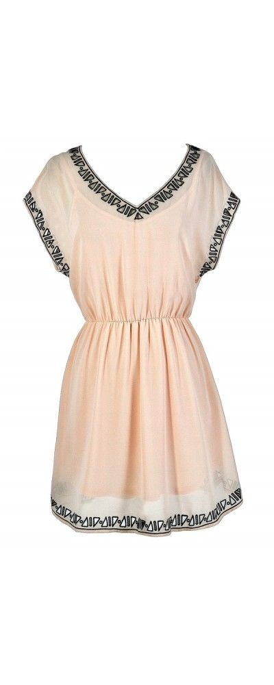 How Acute Triangle Cutout Dress in Pale Pink  www.lilyboutique.com