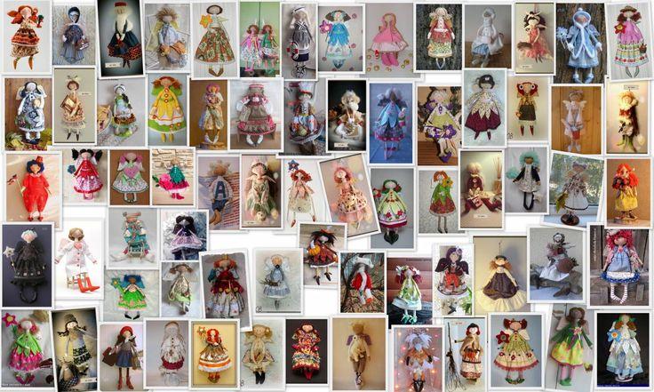Куклы феи - итоги совместного пошива - 30 Января 2015 - Кукла Тильда. Всё о Тильде, выкройки, мастер-классы.