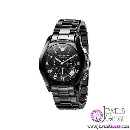 armani ceramic watch for men
