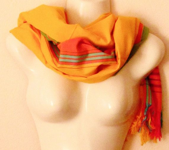 Tanzanian KiKOY scarf, beach dress, skirt, interior decorating, baby sling and many more. Available in many beautiful sunshine colors,.