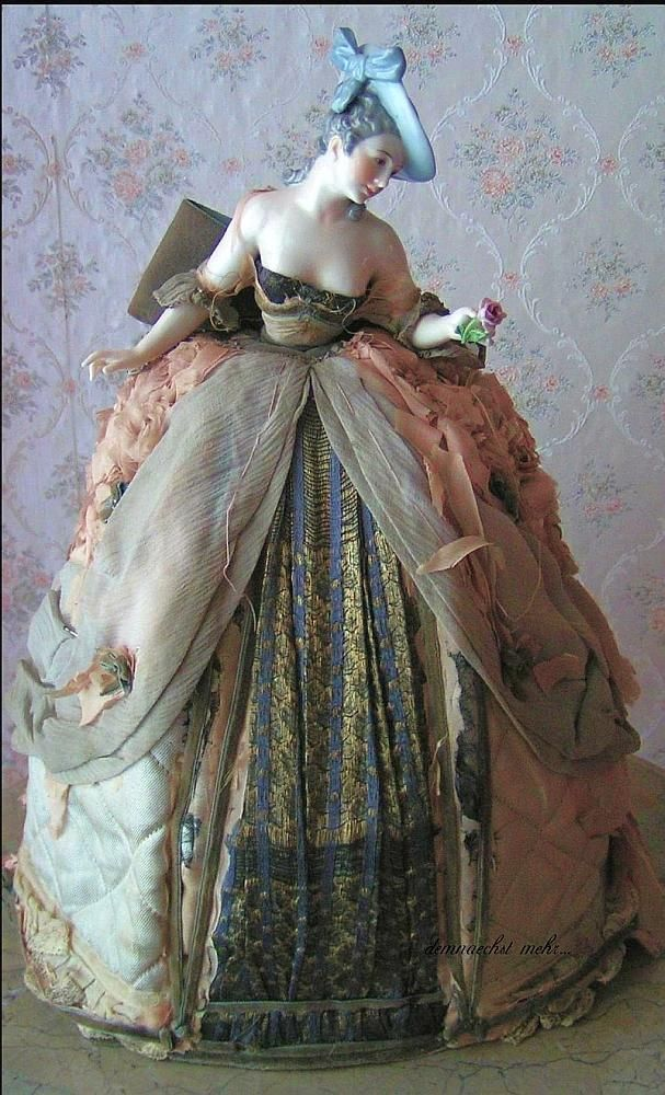 Wow - isn't she gorgeous? Not a boudoir doll, but clothes like these would be beautiful on a girl needing a new dress!