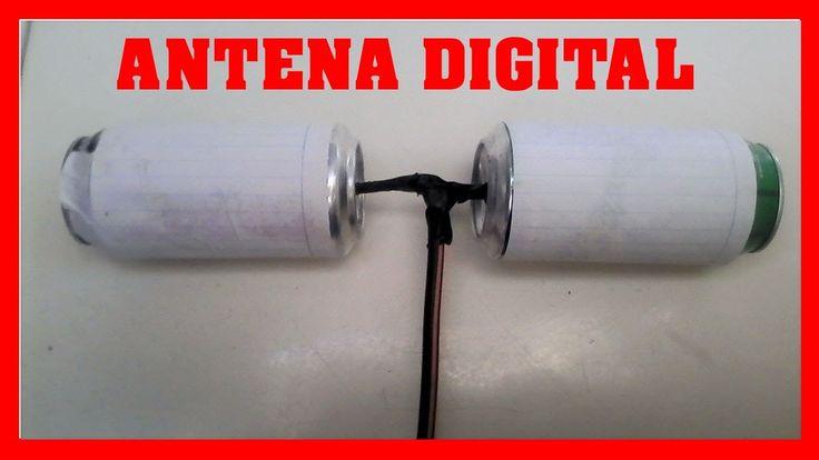 Como hacer una antena casera para TV Digital HD