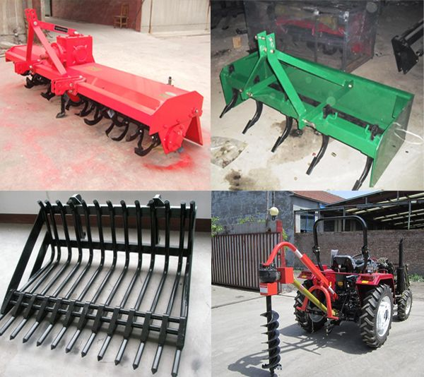 Tractor Implements And Attachments : Tractor implements for better and faster harvest