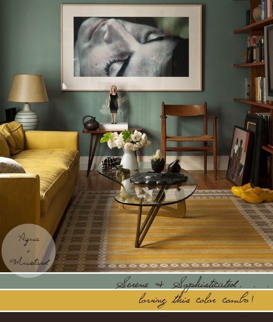 Gold Yellow Paint Color Room Living